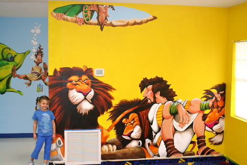 Bible Stories Mural